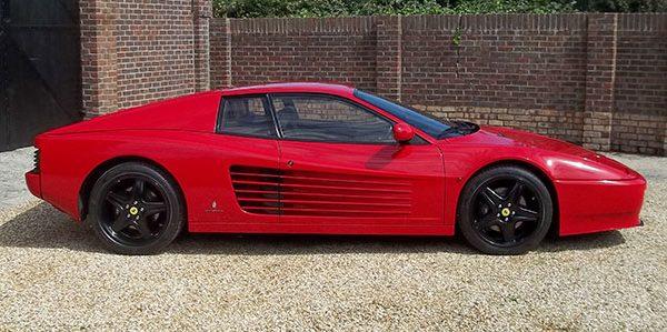 Forza 288: Ferrari Testarossa 512TR