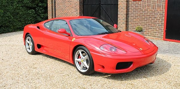 Forza 288: Ferrari 360 Modena Manual