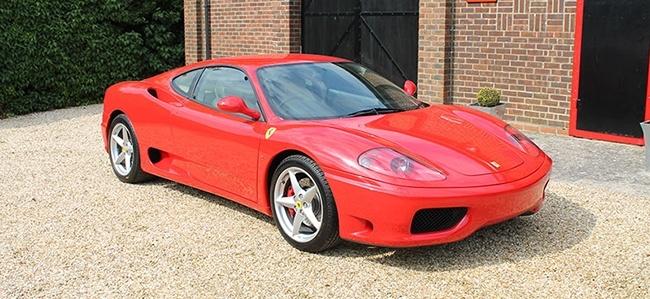 Ferrari 360 Modena Manual