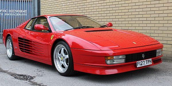 Forza 288: Ferrari Testarossa