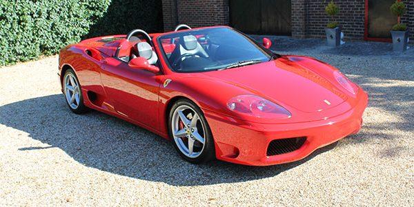 Forza 288: Ferrari 360 Modena Spyder