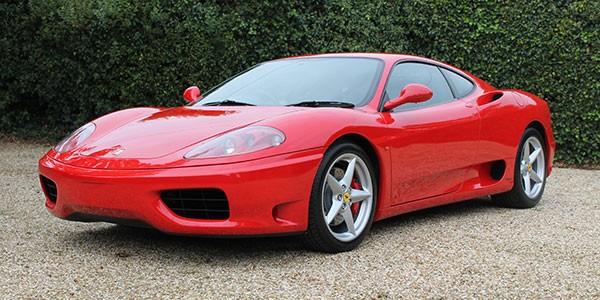 Ferrari 360 F1 RHD