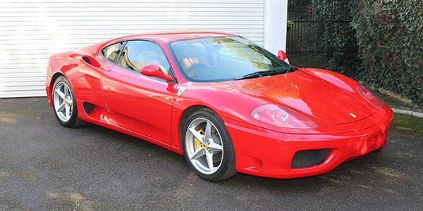 Forza 288: Ferrari 360 Modena Manual RHD