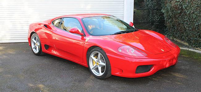 Ferrari 360 Modena Manual RHD