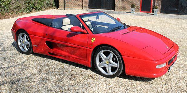 Forza 288: Ferrari 355 Spyder RHD Manual