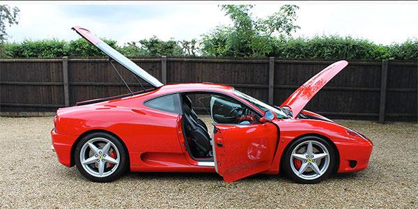 Forza 288: Ferrari 360 Modena (Manual) UK RHD