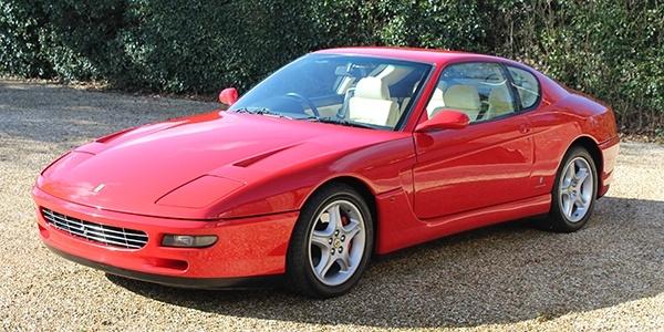 Forza 288: Ferrari 456 GT Manual (UK RHD)