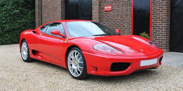 Ferrari 360 Modena F1 – UK RHD