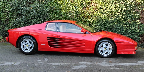 Forza 288: Ferrari Testarossa – LHD