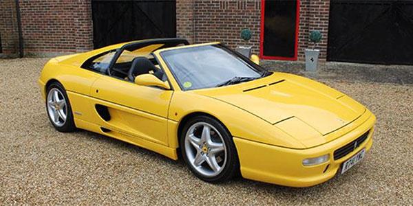 Forza 288: Ferrari 355 F1 GTS (UK RHD)