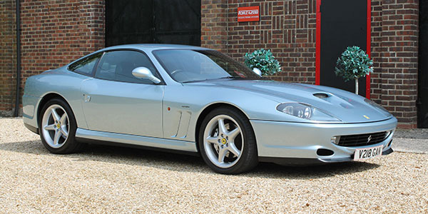 Forza 288: Ferrari 550 Maranello (UK RHD)