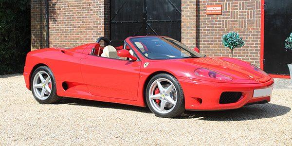 Ferrari 360 Modena Spyder (RHD)
