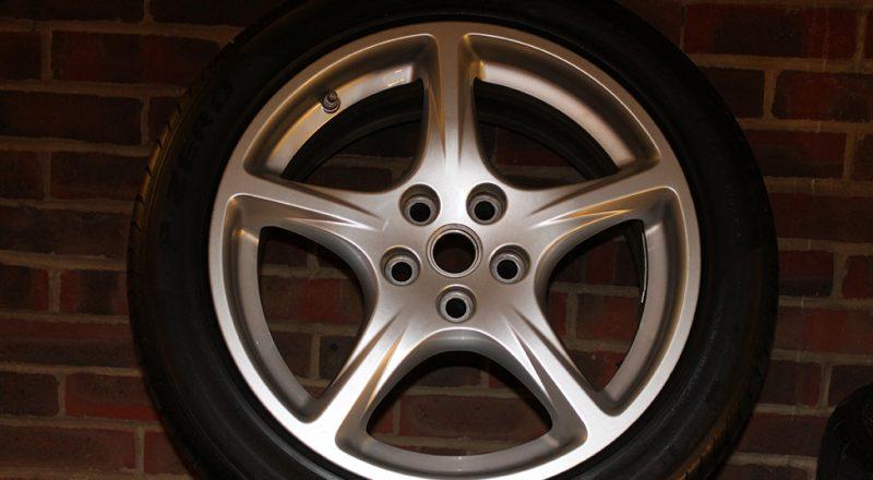 19″ Ferrari 612 wheel (set of 4)