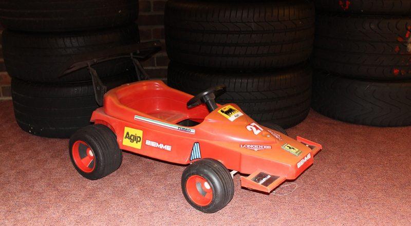 Children's Ferrari Pedal Car
