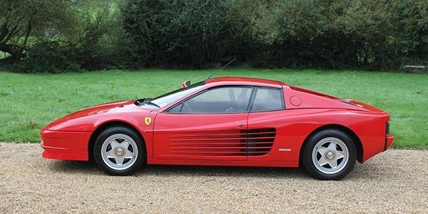 Forza 288: Ferrari Testarossa (UK RHD)
