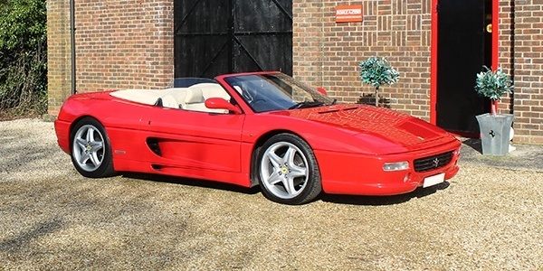Forza 288: Ferrari 355 Spider UK (RHD)